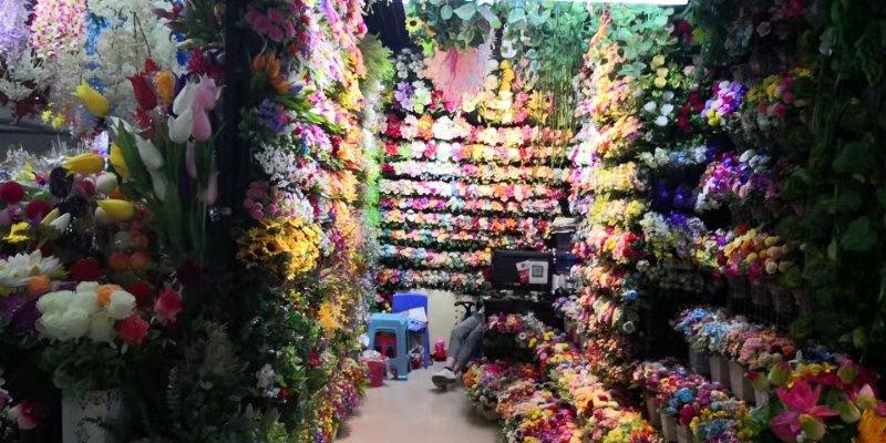 Искусственные цветы оптовый рынок Иу