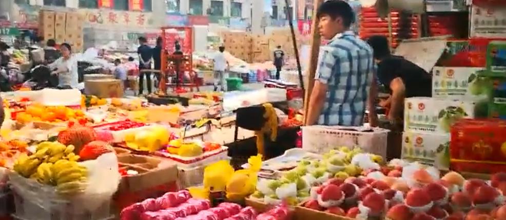 Точка продажи фруктов оптом