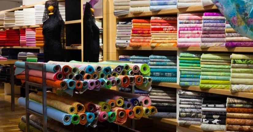 Ткань оптовый рынок хоз. товаров Иу