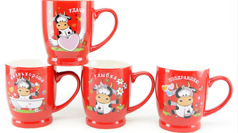 Кружки с символом года заказать купить оптом в Китае