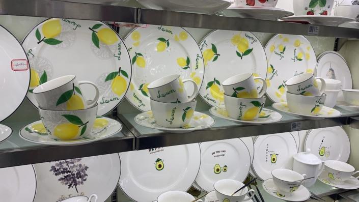 Посуда из Китая, доставка из Китая, поставщик из Китая, оптовый рынок посуды, товары из Китая оптом, перевозки из Китая, город Иу Китай, рынок Иу Футьен